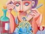 Spaghettiessserinnen