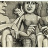 "Paul Revellio ""Gossip-Girls"" Lithographie"